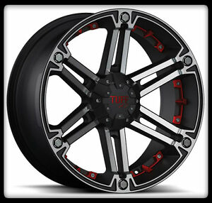 20-034-X-9-034-TUFF-T01-BLACK-RIMS-amp-35X12-50X20-LT-NITTO-MUD-GRAPPLER-MT-WHEELS-TIRES