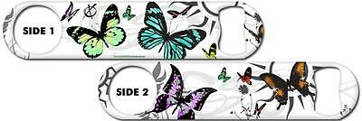 Bartender Bottle Opener: Butterfly Kisses + Add Name or Text FREE!