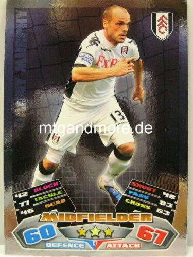 Match Attax Extra 2011//12 Premier League Captain//Star Signing aussuchen
