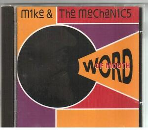 CD-MIKE-amp-THE-MECHANICS-WORD-OF-MOUTH-10-Tracks-Virgin-Records-CDV2662