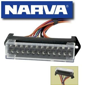 FUSE-BLOCK-BOX-HOLDER-CARAVAN-MARINE-DUAL-BATTERY-12-VOLT-12V-12-WAY-NEW-54426
