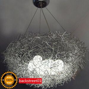 New aluminum wire birds nest chandelier ceiling light pendant lamp new aluminum wire bird 039 s nest chandelier keyboard keysfo Choice Image