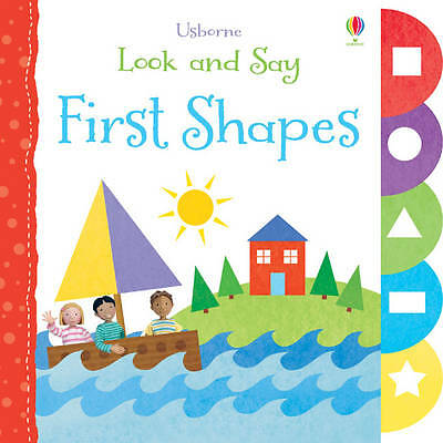 Look and Say: First Shapes (Usborne Look and Say)