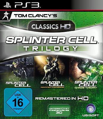 Tom Clancy's Splinter Cell Trilogy (Sony PlayStation 3, 2011)(Y.E) 10186