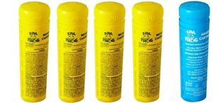 FREE 2-3 DAY SHIPPING Spa Frog Kit 5 pack 4 Bromine & 1 Mineral Cartridge