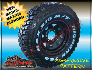 MAXXIS-BIGHORN-MT764-31X10-5R15-NEW-PATTERN-MUD-4X4-TYRE-31-10-5-15-LESS-NOISE