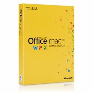 Microsoft Office For Mac Home And Student 2017 3 Computer S