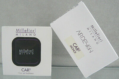 MILLEPROMO Millefiori Milano Diffusore auto Car2 Quadro + ricarica CAR Air fresh