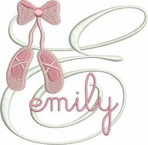 Free Machine Embroidery Designs Ballet Shoes
