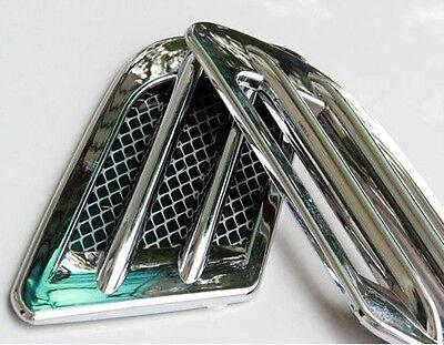Sticker Car Bonnet Fender Plastic Air Flow decorative Vents Intake Scoop