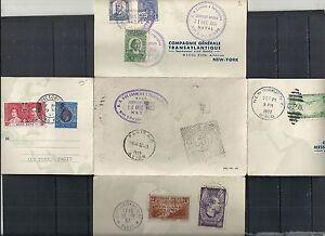 Brazil 1937 4 Continents Flight Natal-New York-Honkong-Paris