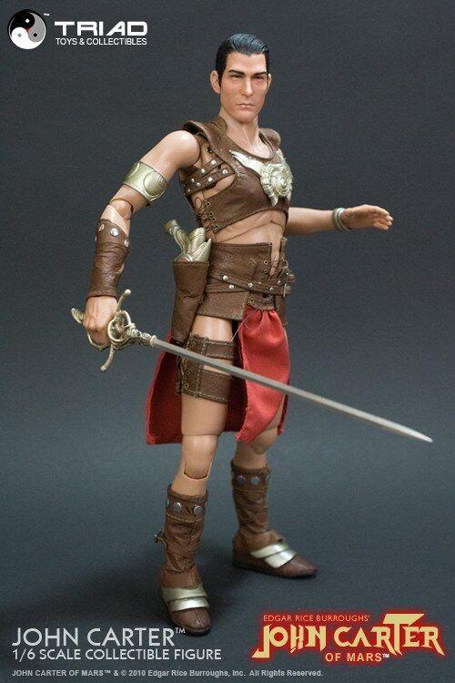 1 6 Triade leksaker Edgar Rice Burroughs Mars –John Carter Collectible Figur