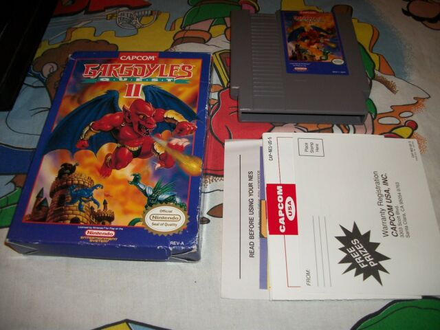 Gargoyle's Quest II: The Demon Darkness 2 NES Nintendo Game w/ Box