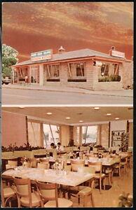 New Market Va Southern Kitchen Restaurant Vintage Sunset Postcard Old Virginia