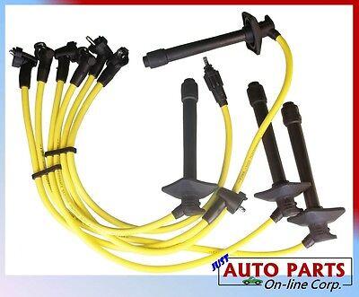 SPARK PLUG WIRES CAMRY CELICA MR2 RAV4 2.0L 2.2L SILICONE HIGH PERFORMANCE 8.0mm