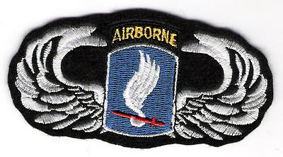 U. S. ARMY NOVELTY PATCH-173rd AIRBORNE WINGS