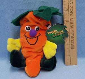 Seed Bean Bag Plush Veggie Friends Seedies Beta Carrot Toy Limited Edition