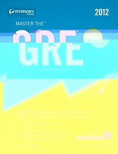 master the gre 2013 petersons
