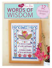 I Love Cross Stitch: Words of Wisdom: 12 Inspirational Designs by Various Contributors (Paperback, 2013)