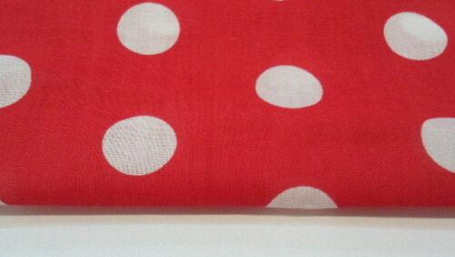Spot design fabric various colours
