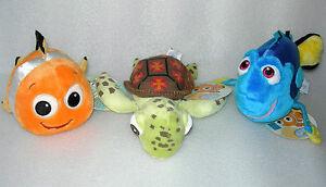 Tomy-Disney-Baby-Finding-Nemo-Plush-Soft-Toy-Rattle-Age-0-BNWT