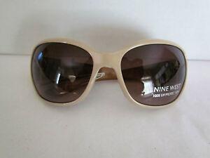 Ladies-NWT-JONES-NEW-YORK-Cream-Plastic-Sunglasses-100-UV-Protection-48-00