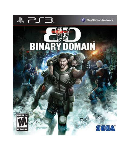 Binary Domain COMPLETE Sony Playstation 3 PS PS3 GAME