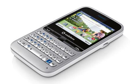 "Vodafone 555 Internet Email  ""Facebook"" Handy Qwertz-Tastatur 2Mpx Kamera neu"