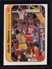 1986 Fleer Akeem Olajuwon #9 Basketball Card