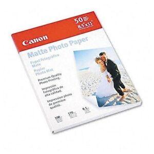 Canon-Photo-Paper-Plus-Matte-8-1-2-X-11-pack-of-50-Sheets