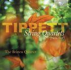Michael Tippett - : String Quartets Nos. 1-4 (2012)