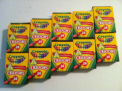 CRAYOLA Crayons 24 Count x 50 boxes.  1200 crayons Lot  NEW!