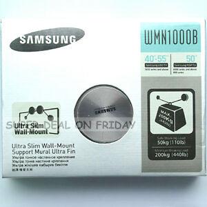 ORIGINAL-SAMSUNG-WMN1000B-ULTRA-SLIM-WALL-MOUNT-For-LED-TV-40-55-HANGER-STYLE