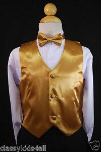 Baby gold vest