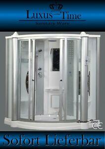 Luxus duschkabine  Dampfdusche Duschtempel Duschabtrennung Duschkabine Sauna Luxus ...