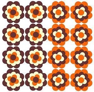 Blumen-Aufkleber-Pril-blume-Prilblumen-Retroblume-16x-3cm-Fahrrad-Fahrradsticker