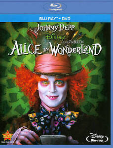Alice-in-Wonderland-Disney-Blu-ray-NO-DVD-2010-Tim-Burton-Film