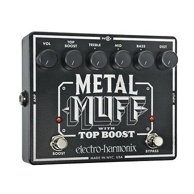 electro harmonix metal muff distortion guitar effect pedal for sale online ebay. Black Bedroom Furniture Sets. Home Design Ideas