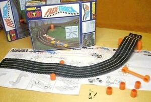 1979 aurora afx ho slot car flex track orig box with g g for 2 box auto con stanza bonus