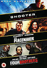 Shooter/Peacemaker/Four Brothers (DVD, 2008, 3-Disc Set, Box Set)