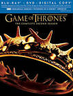 Game of Thrones: The Complete Second Season (Blu-ray/DVD, 2013, 7-Disc Set, Includes Digital Copy)
