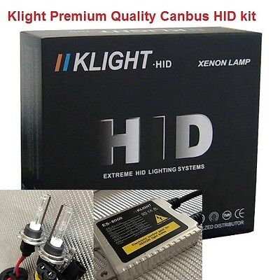 Klight H7 8000K White Canbus HID kit Ultra Slim BMW Mini Audi Benz