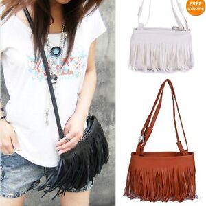 Fashion-Fringe-Tassel-Shoulder-Messenger-Bag-Hand-Style-Women-lady-Satchel