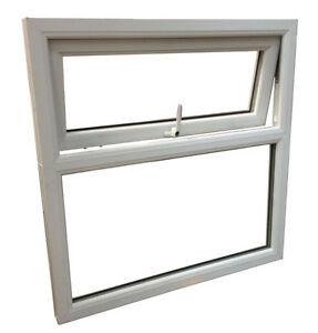 White upvc a rated window top opening window ebay for Best quality windows