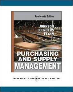 Purchasing and supply management by p fraser johnson anna flynn brand new lowest price fandeluxe Images