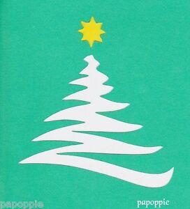 Stencil Christmas Tree Star Holiday Crafts Ebay