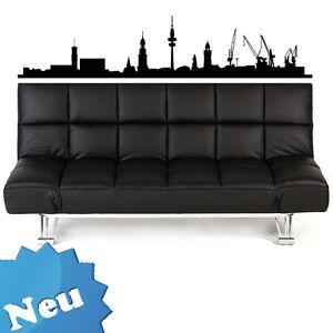 skyline xxl wandtattoo wandtatoo aufkleber hamburg 1 m. Black Bedroom Furniture Sets. Home Design Ideas