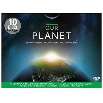 Our Planet (DVD, 2011, 10-Disc Set) SEALED