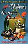 More Childrens Sermons to Go by RANEY (Paperback, 2001)