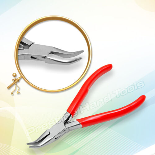 Prestige Bent nose chain nose pliers jewellery fishing hobby craft tools New